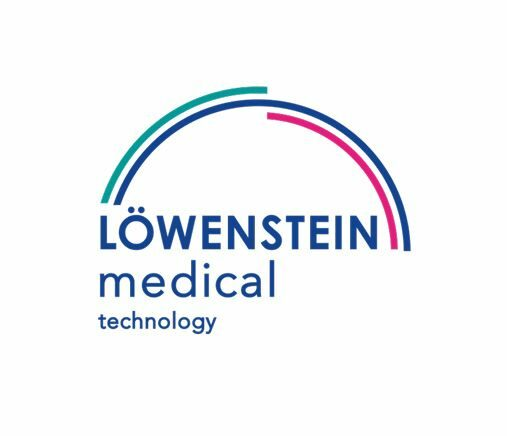 Referenzleiste Logo Löwenstein medical technology